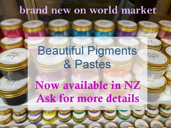 Colour Passion pigments and pastes for resin